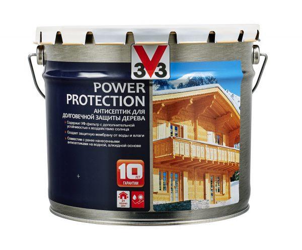 Антисептик алкидный V33 Power Protection