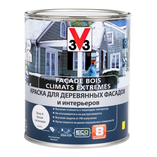 Фасадная краска V33 Climats Extrimes