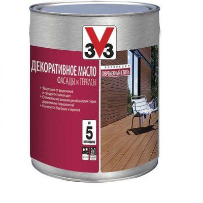Декоративное масло для фасадов и террас V33